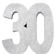 Tafeldecoratie zilver 30