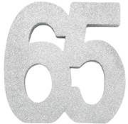 Tafeldecoratie zilver 65
