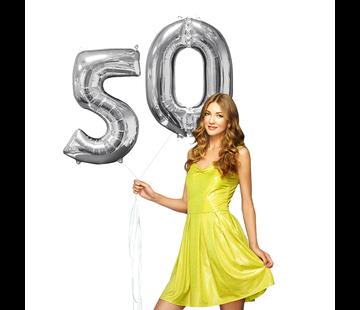 Helium gevulde cijfers 50