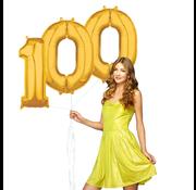 Ballonnen cijfers 100 gevuld