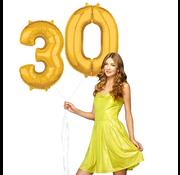 Ballonnen cijfers 30 gevuld