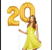Ballonnen cijfers 20 gevuld