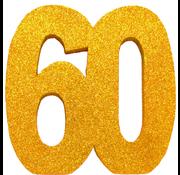 Tafeldecoratie goud 60