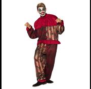Griezelig clown kostuum heren