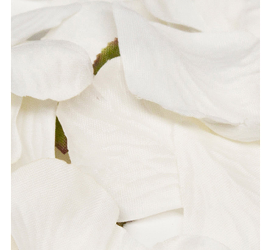 288 Goedkope rozenblaadjes wit