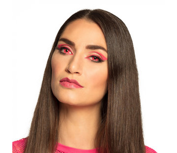 Maandlenzen UV flash roze