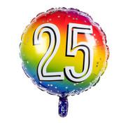 Ronde folieballon 25