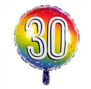 Ronde folieballon 30