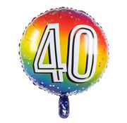 Ronde folieballon 40