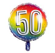 Ronde folieballon 50
