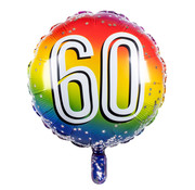 Ronde folieballon 60
