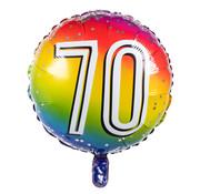 Ronde folieballon 70
