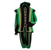 Groen-zwarte Pieten pak