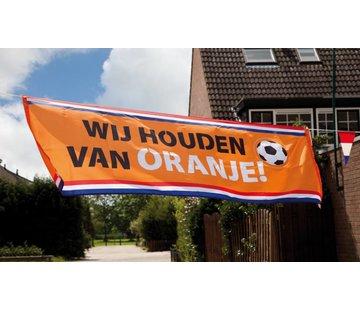 Banner Oranje holland