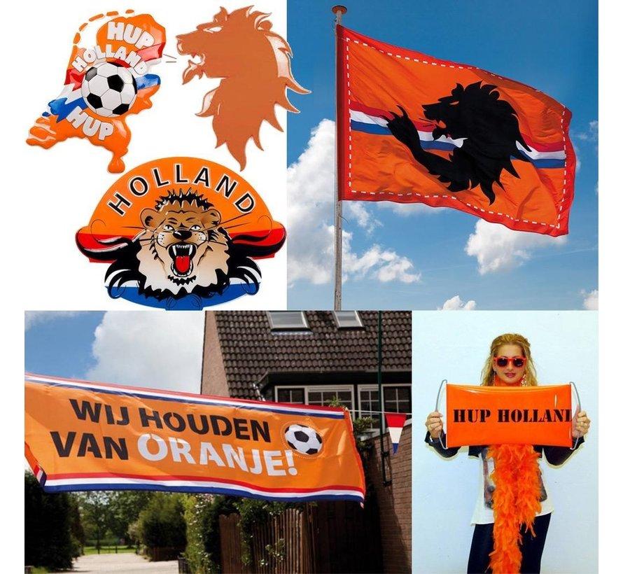 Oranje EK supporters pakket