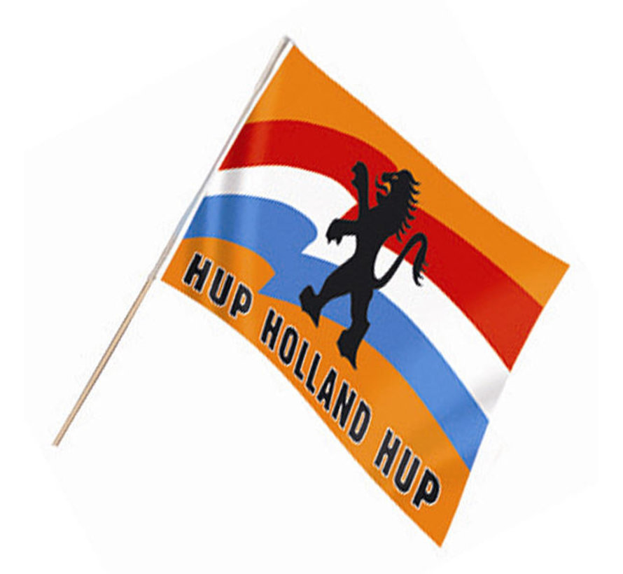 6 Zwaaivlag Hup Holland Hup