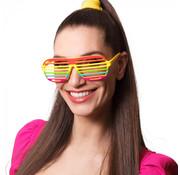 Partybril Regenboog