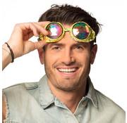 Partybril Mirage goud
