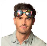 Partybril Mirage Regenboog