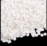 Witte confetti 100 gram