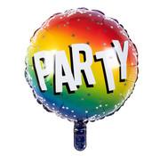 Ronde Folieballon 'Party'