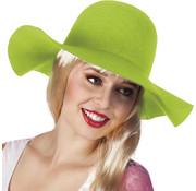 Flaphoed lime groen