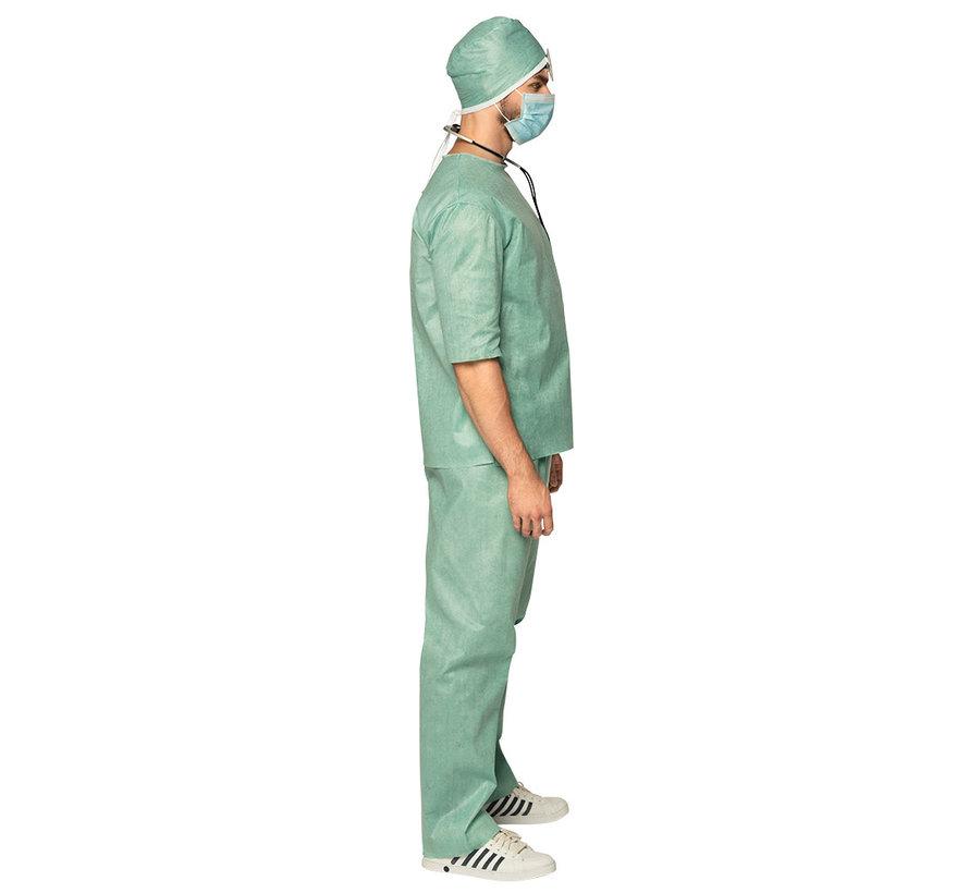 Compleet operatie kleding carnaval