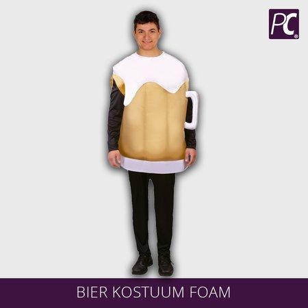 Bier kostuum foam