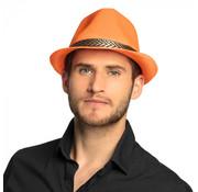 Gangster hoed oranje