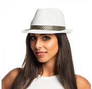 Gangster hoed wit