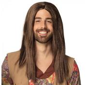 Pruik Hippie