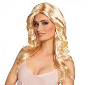 Disco pruik blond
