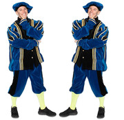 Piet fluweel met cape