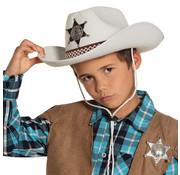Kinderhoed Sheriff junior wit
