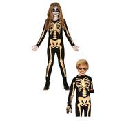 Catsuit skelet kinderen