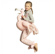 Instap kostuum Flamingo