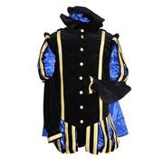 Piet fluweel met cape luxe