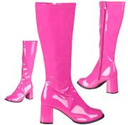 Hippie laarzen hard roze