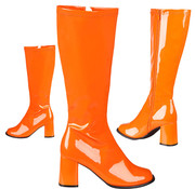 Hippie laarzen oranje