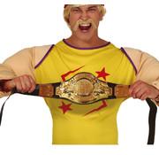 Boksen kampioen gordel
