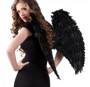 Zwarte Engelen vleugels