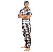 Volwassenenkostuum Gevangene
