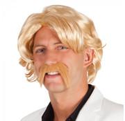 Blonde Chuck pruik