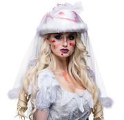 Horror bride hoed