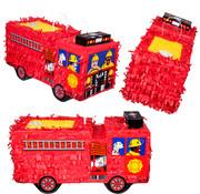 Brandweer auto piñata