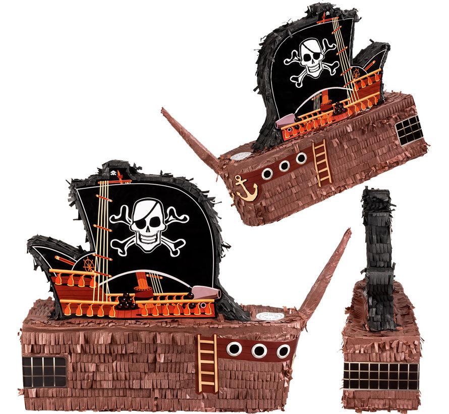 Pinata  piraten schip van papier