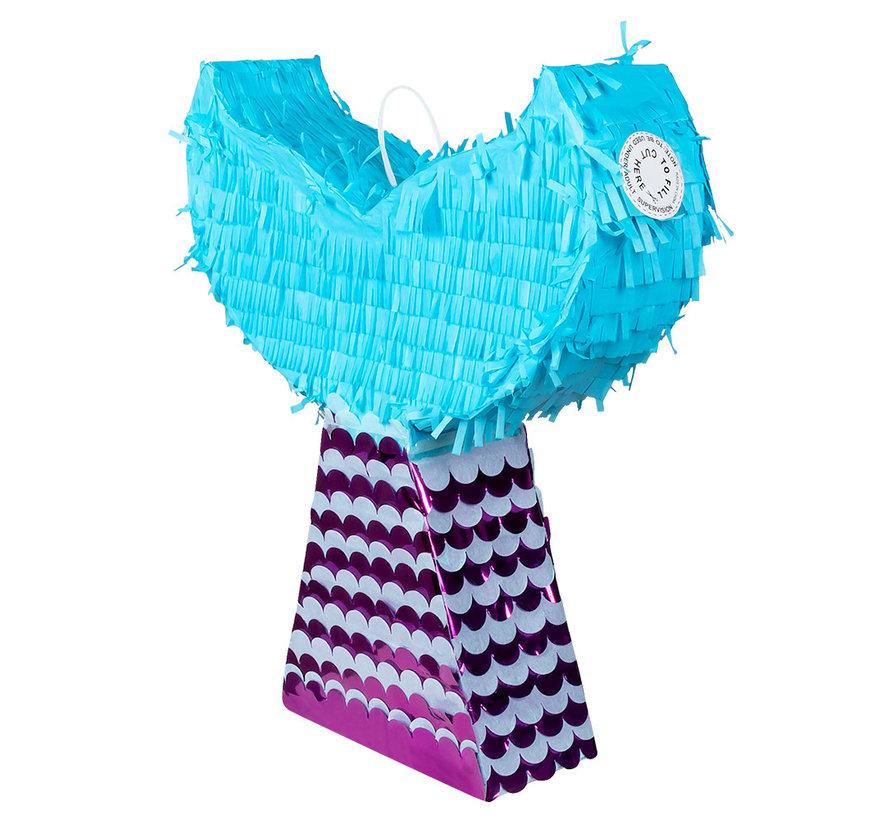 Mermaid piñata zeemeermin staart