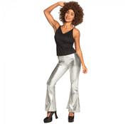Zilver kleurige Disco broek