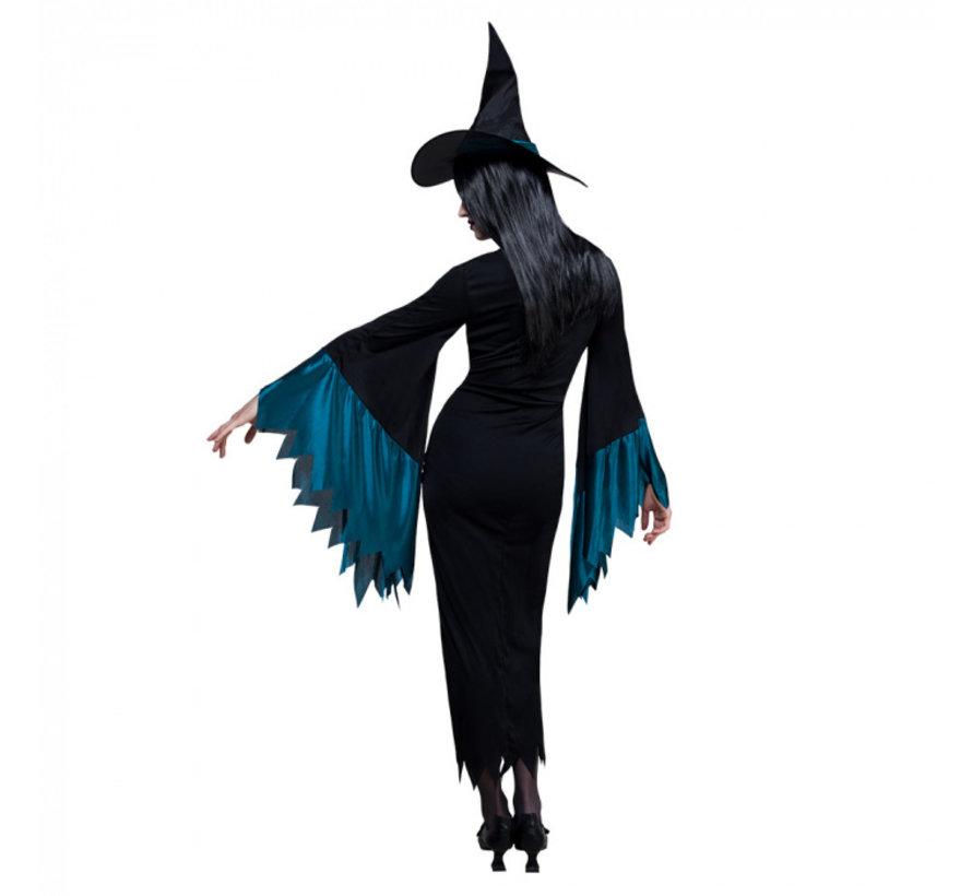 Halloween heksenjurk dames