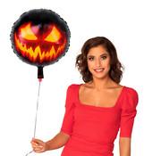 Folieballon halloween pompoengezicht